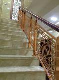 Роскошный дизайн лестницы поручни Balustrade из литого алюминия