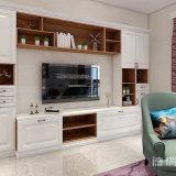 TVのキャビネットが付いているキャビネットを押す居間の家具の食料貯蔵室型