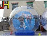 Globo de neve inflável decorações de Natal/globo insuflável tenda