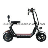 Leistungsfähiger grüner elektrischer Roller mit 01 - 48V 3500watt schwanzloser Motor für Erwachsenen