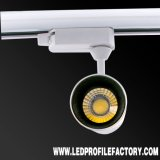 Spotlight voie Kit d'éclairage LED, montage encastré extérieur Designer voie lumière à LED blanche