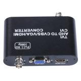 Tvi/Ahd/Cvi zum CVBS/VGA/HDMI Video-Konverter