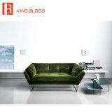 El material determinado del muchacho de Chesterfield del sofá seccional barato perezoso del estilo es tela