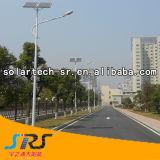 Lumière extérieure solaire de Lightingled de route solaire contemporaine de DEL avec la lumière de route de Timerchina