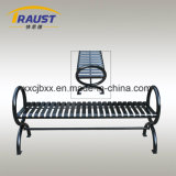 経済的な屋外の錬鉄のベンチ、旧式な鋳鉄公園の椅子