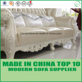 ドバイ安いSectionalsの標準的な居間の革1+2+3ソファー