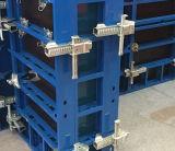Molde concreto do frame de aço da madeira compensada da parede modular