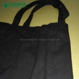 卸売の100%年の綿のショッピング・バッグのカスタム黒いキャンバスのトートバック