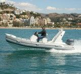 Liya 5.2m Fiberglass Rigid Inflatable Boat Hypalon Rib Boat