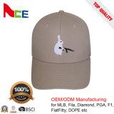 Los bordados de animales de la moda de promoción del deporte del béisbol de la tapa para la venta al por mayor