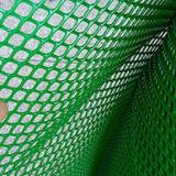 Высокая растяжимая прессованная пластичная ячеистая сеть для предохранения от травы
