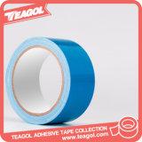 Cinta adhesiva del conducto del paño de la fibra de la materia textil del rasgón fácil