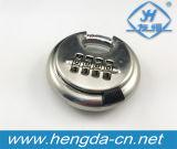 Yh1808 cadeado numérico do disco da combinação do aço inoxidável de boa qualidade 70mm