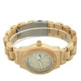 Proveedor chino de madera de arce Unisex reloj Relojes de cuarzo de madera OEM