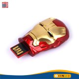 USB elegante Keychain Pendrive do metal da vara 4GB do grampo do gancho do giro