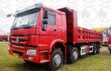 De Vrachtwagen van de Stortplaats 371HP van Sinotruk HOWO 8X4 LHD