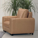 Best Quality Hotel Lobby Leather Sofa Furniture (A07)