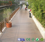 Incêndio durável da alta qualidade do fornecedor de Guangdong - Decking resistente da madeira de WPC