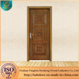 Итальянский дизайн Desheng наружных деревянных дверей