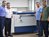自動Ecoographix 22pphは紫外線CTPを製版する