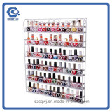 Kundenspezifische an der Wand befestigte Metalldraht-Nagellack-Bildschirmanzeige-Zahnstange