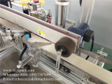 Machine à étiquettes latérale de carton de double auto-adhésif de cadre