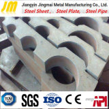 Servizio d'acciaio personalizzato di taglio di precisione d'acciaio di taglio di processo del piatto d'acciaio