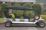 Atraente corpo metálico de 4 rodas 4 Lugares Golf Carro Eléctrico