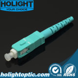 De Optische Schakelaar van de Vezel van Sc Om3 met Huisvesting Aqua