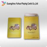 Cartes de jeu de casino en plastique de haute qualité avec code à barres