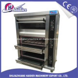 Gas van de Apparatuur van het Baksel van de fabriek Freestanding of de Elektrische Oven van het Brood van de Bakkerij van de Oven van de Pizza van 1/2/3/4 Lagen Commerciële