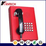 2017 Téléphone sans fil Téléphone SIP Ascenseur Téléphone Knzd-03 LCD étanche Sos Téléphone d'urgence