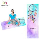 Mat van de Yoga van Eco van het Af:drukken van Dreamcatcher de Kleurrijke Vriendschappelijke