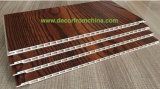 Los paneles de pared de madera del PVC del grano