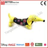 Perro suave del Dachshund de la felpa del juguete del animal relleno del regalo de la promoción para los cabritos