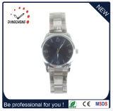 水晶サファイアガラスの人そして女性のためのOEMの方法ステンレス鋼の水晶腕時計