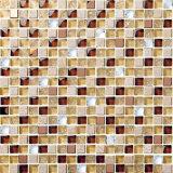Azulejo de mosaico de cerámica de cristal barato de la decoración interior del buen asunto