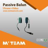 Balun CCTV vidéo Cat-5 sans audio (MVT-213AT/BR)