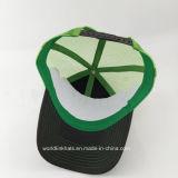 3D刺繍が付いている50%Cotton 50%Polyesterのトラック運転手の帽子の習慣5のパネルの網の帽子