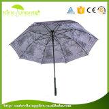 Griff-Automobil-geöffnetes volle Abbildung-Drucken-gerader Regenschirm der Qualitäts-23 des Zoll-J