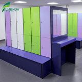 De Kabinetten HPL van de kleedkamer