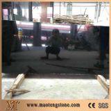 Круглый камень перлы кухонных стол столов гранита черный согласно конструкции клиента