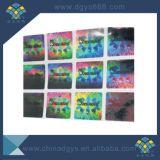 Autoadesivo materiale del laser di effetto del Rainbow dell'animale domestico lucido