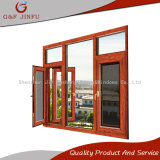 Hölzernes schauendes Metallfenster/Aluminiumprofil-Glasfenster mit Insekt-Bildschirm
