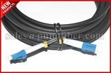 Outdoor ODVA LC Duplex Câble à fibres optiques IP67 étanche cordon de raccordement circulaire