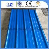 Gebäude-Metallmaterialien galvanisierten vorgestrichenes Stahldach-Blatt