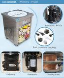 Kolice EUの単一の円形50cm鍋の揚げ物のアイスクリーム機械