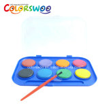 De kunst levert de Cake van de Kleur van het Water van 8*2.8cm, Aquarelle, W0828W