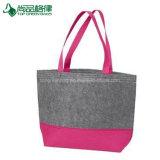 Die mittleren Filz-Einkaufen-Handtaschen-Großverkauftote-Beutel Einfach-zu-Verzieren
