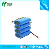 Batterie rechargeable 3.7V de Lipo de batterie Li-ion de polymère de Li-ion de batterie de polymère de lithium de Whosales 5500mAh 7.4V d'usine